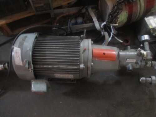 Unimount 125 Closed Coupled Pump Motor, Model: A970A with Double A: AA-67607  <