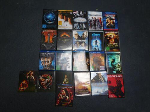 14 Filme auf DVD und 5 auf BlueRay, zum Teil Special Editions
