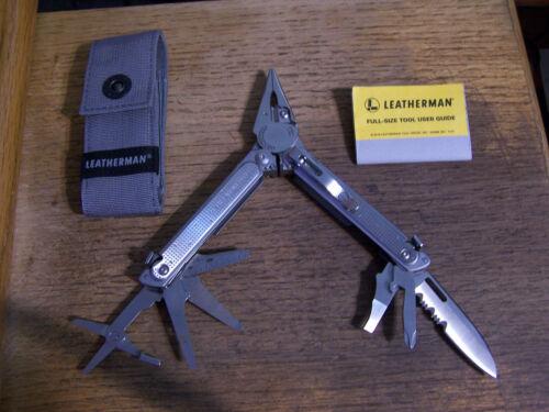 New Leatherman Free P2 Multitool & Sheath  New Model  USA