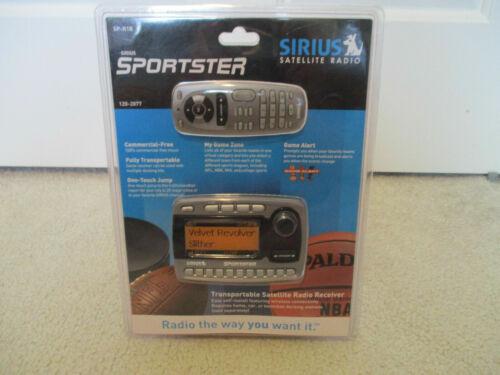 Sirius Sportster SP-R1R Satellite Radio  w/remote - New In Package! 2005 RARE!!