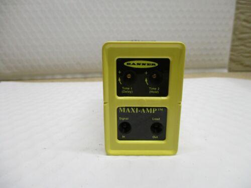 BANNER CL5RA MAXI-AMP CL SERIES LOGIC-LEVEL INPUT MODULE 11 PIN 26419