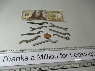 Lot Of 8 Micrometer Adjustment Wrench S Fits Starrett Mitutoyo Lufkin Bs