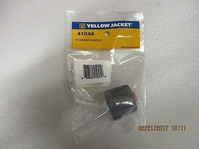 Yellow Jacket Titan Red Valve Handle - 41044