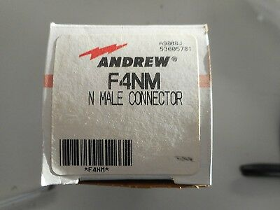 Andrew F4nm N Male Connector Replaces 44asw