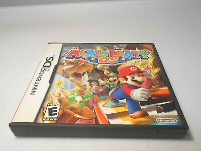 Mario Party (Nintendo DS) w/case & manual lite dsi xl 3ds 2ds game segunda mano  Embacar hacia Mexico