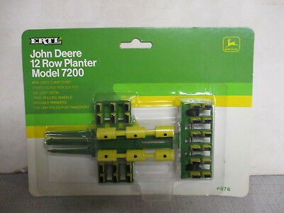 (1992) Ertl John Deere Model 7200 12 Row Toy Planter, 1/64 Scale, NIP for sale  Shipping to Canada