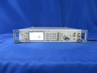 Rohde Schwarz Sma100a Rf Signal Generator With Options B103l B22 B29