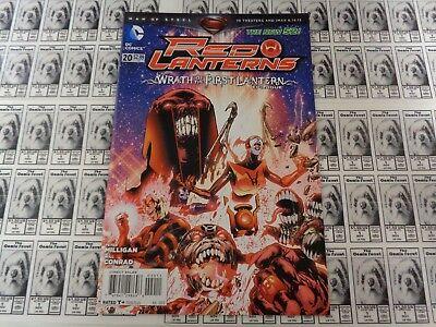 Red Lanterns (2011) DC - #20, Wrath of First Lantern, Milligan, NM/- (New 52)