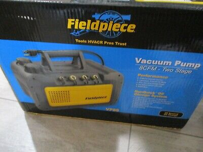 Fieldpiece Vp85 Two Stage 8 Cfm Vacuum Pump Usa Shipping Only-brand New