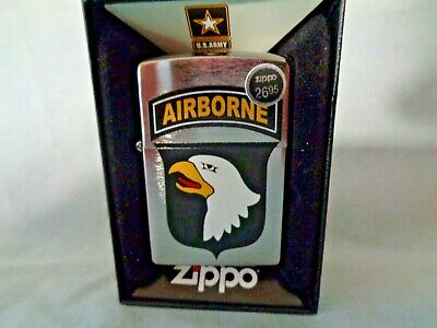 UNITED STATES US ARMY 101ST AIRBORNE DIVISION ZIPPO LIGHTER - New
