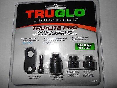 "@NEW@ 2017 TruGlo ""Tru-Lite Pro"" Universal Bow Sight Light! TG57"