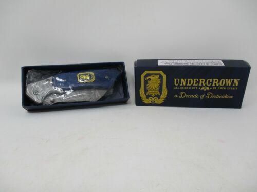 Drew Estate Undercrown Cigar Cleaver Pocket Knife