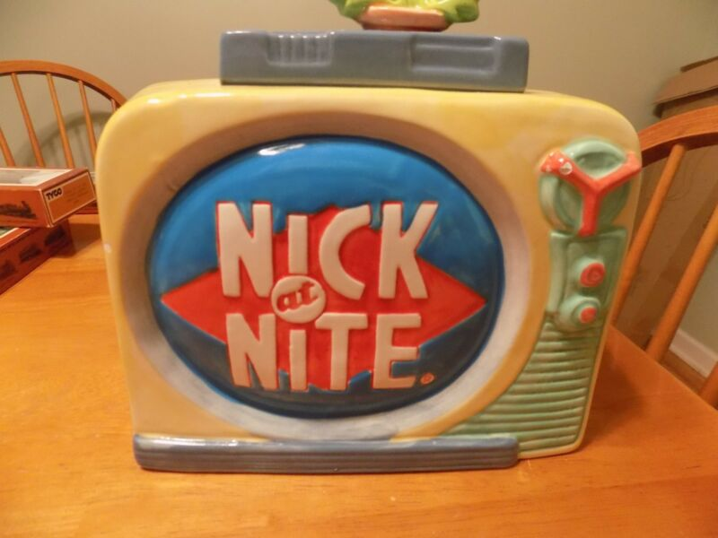Nickelodeon: Nick at Nite Television Limited Edition Cookie Jar