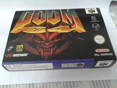 Doom 64 Nintendo 64 PAL euro N64 Midway