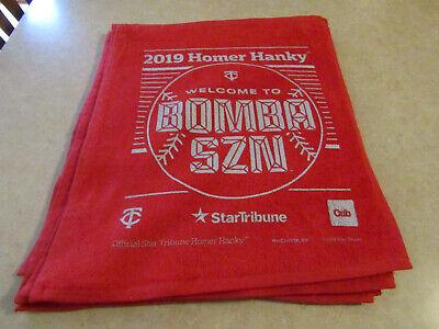 2019 Minnesota Twins Homer Hanky
