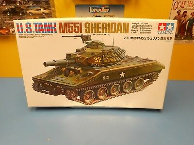 Tamiya Us Tank M551 Sheridan Objet 89541 Neuf en Boîte Ouverte