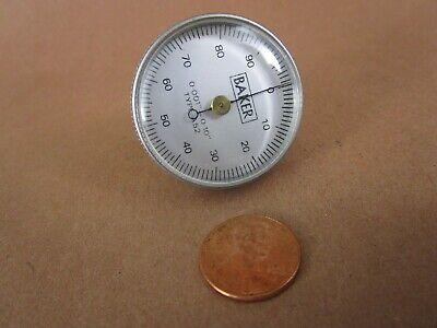 Vintage Baker A52 Universal Dial Test Indicator Set 0.001 - 0.10