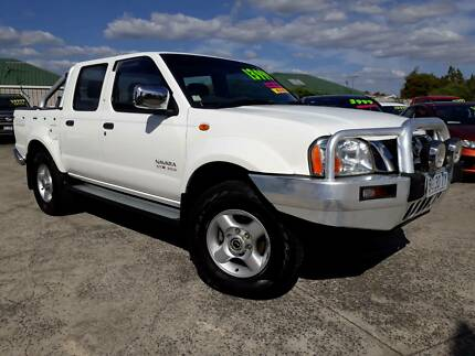 2006 Nissan Navara Ute, Turbo diesel, 5 speed manual low kms Invermay Launceston Area Preview