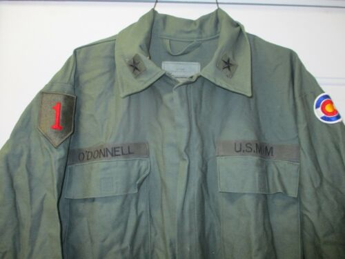 Point Blank Coveralls Size Medium NSN8405-01-395-1114 w. 1st ID patch & US MOM ?