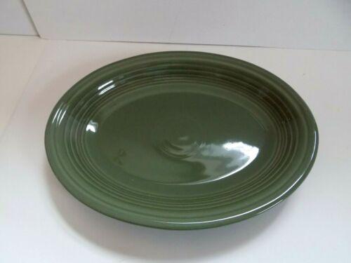 "Fiesta Retired ""Sage"" Medium Oval Platter...1st Quality...New"