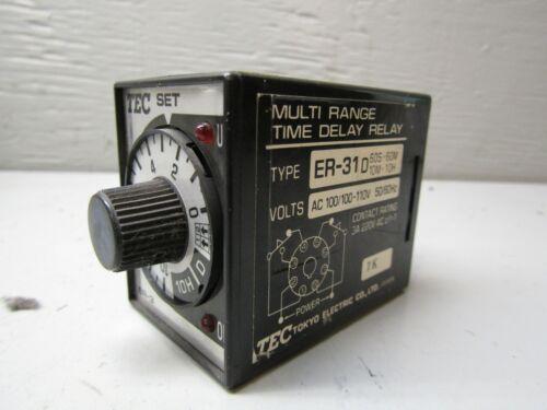 TEC Tokyo Electric ER31D Timer