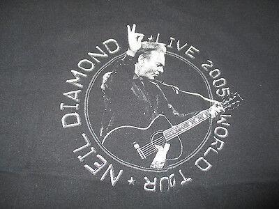 "NEIL DIAMOND ""LIVE in Concert 2005"" Tour (LG) T-Shirt"