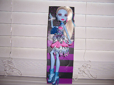 Monster High Dot Dead Gorgeous ABBEY  Party Doll New Loose Walmart EXCLUSIVE - Monster High Walmart