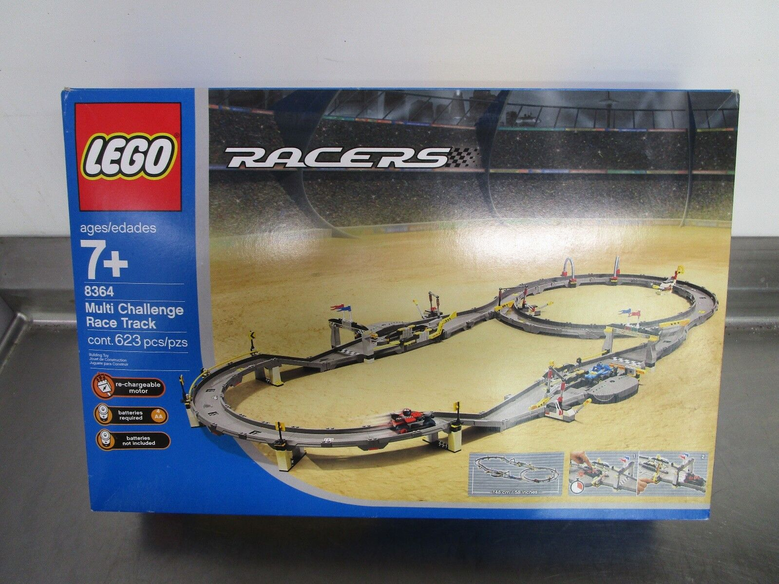 Lego Challenge Racers Race Multi 8364 Track hQxsrtCdB