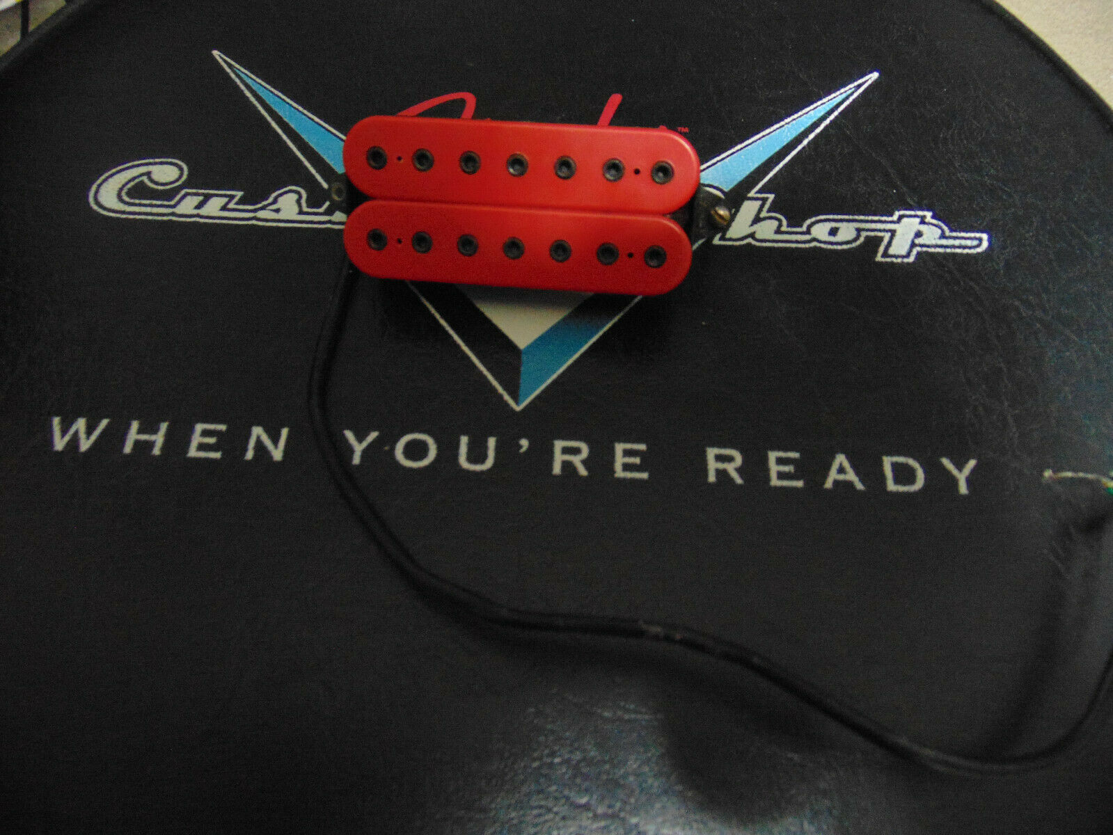 DIMARZIO Imperium 7 String Neck Humbucker Red With Black Poles DIRECT MOUNT 11  - $59.99