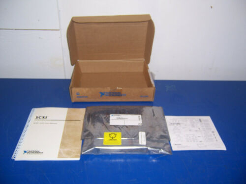 11668 National Instruments NI scxi-1121 amplifier part no: 181700J-01 rev.x1