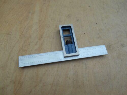 """6"""" machinist combination square, USA"""