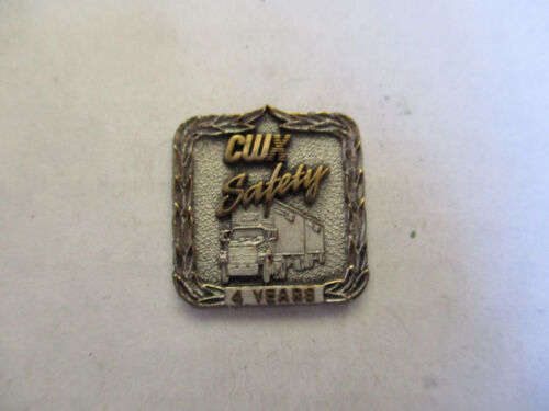 CWX 4yr Trucking Truck Driver Employee Safety Award Pin