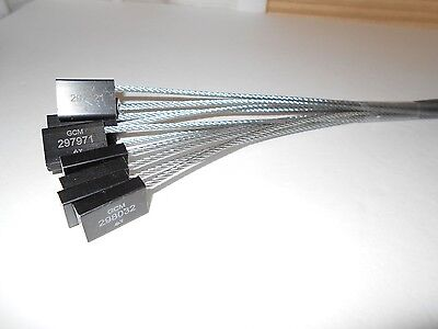 Cable-lock Security Sealscargo Tankerblackstainless Steel10 -18 Seals C-4