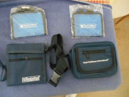Royal Caribbean Lot Of 4-Pad W/ Pen 2 [Sealed]-2 Wallets with Lanyards- All New