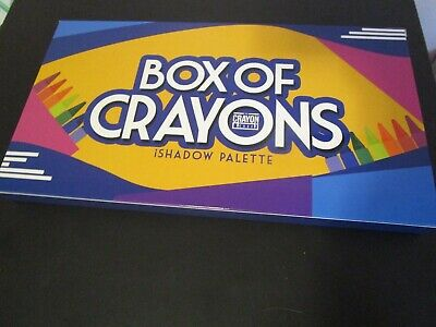 💯 ORIGINAL NEW THE BOX OF CRAYONS EYE SHADOW PALETTE NIB SHIP NOW - Box Of Crayons