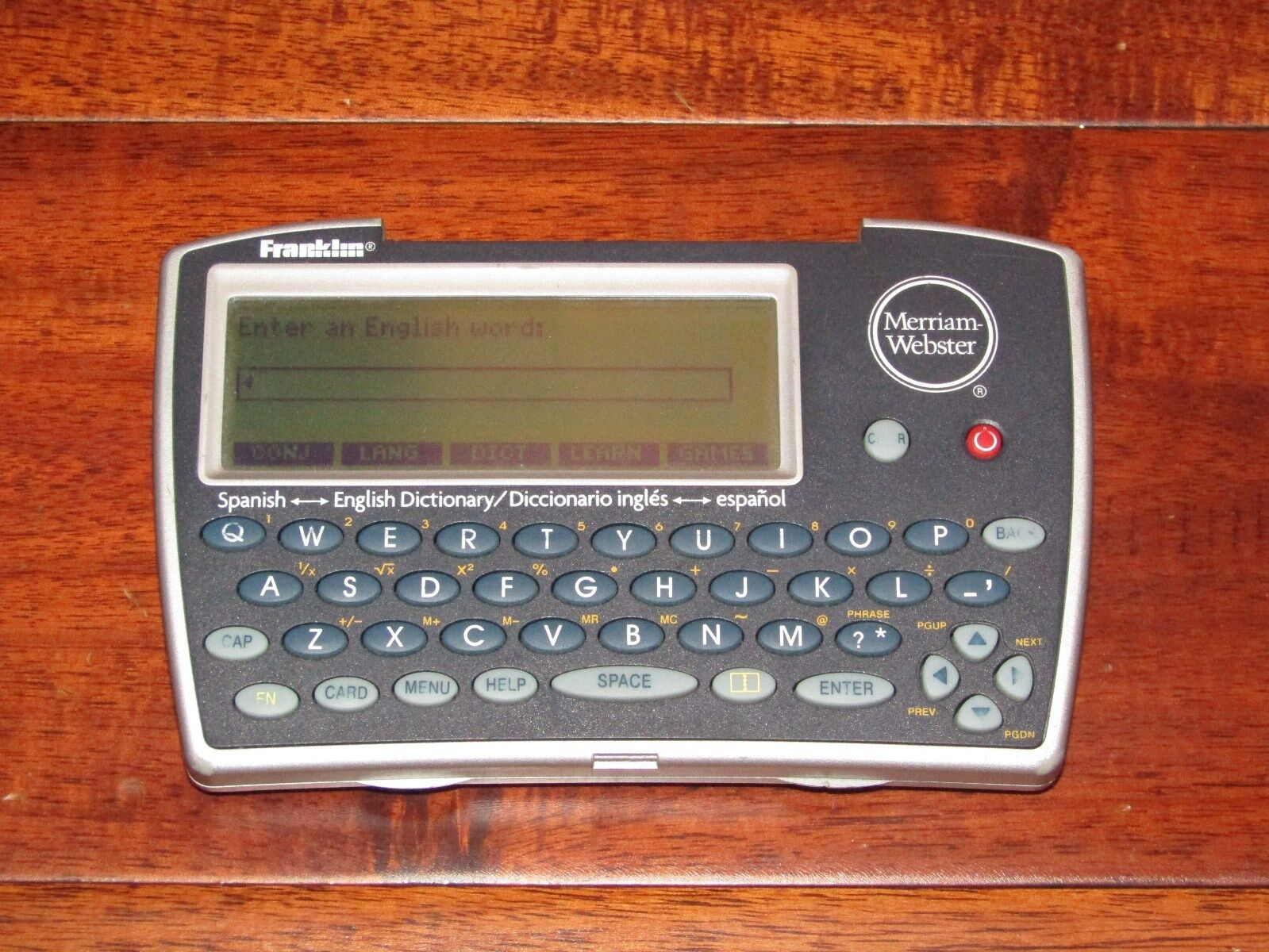 Franklin DBE-1450 Merriam-Webster Spanish-English Dictionary