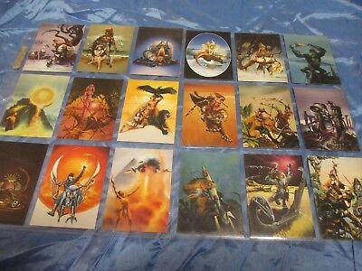 Trading Cards  1994 , Chris Achilleos ,  Fantasy - Kunst - Sammelbilder  / 187