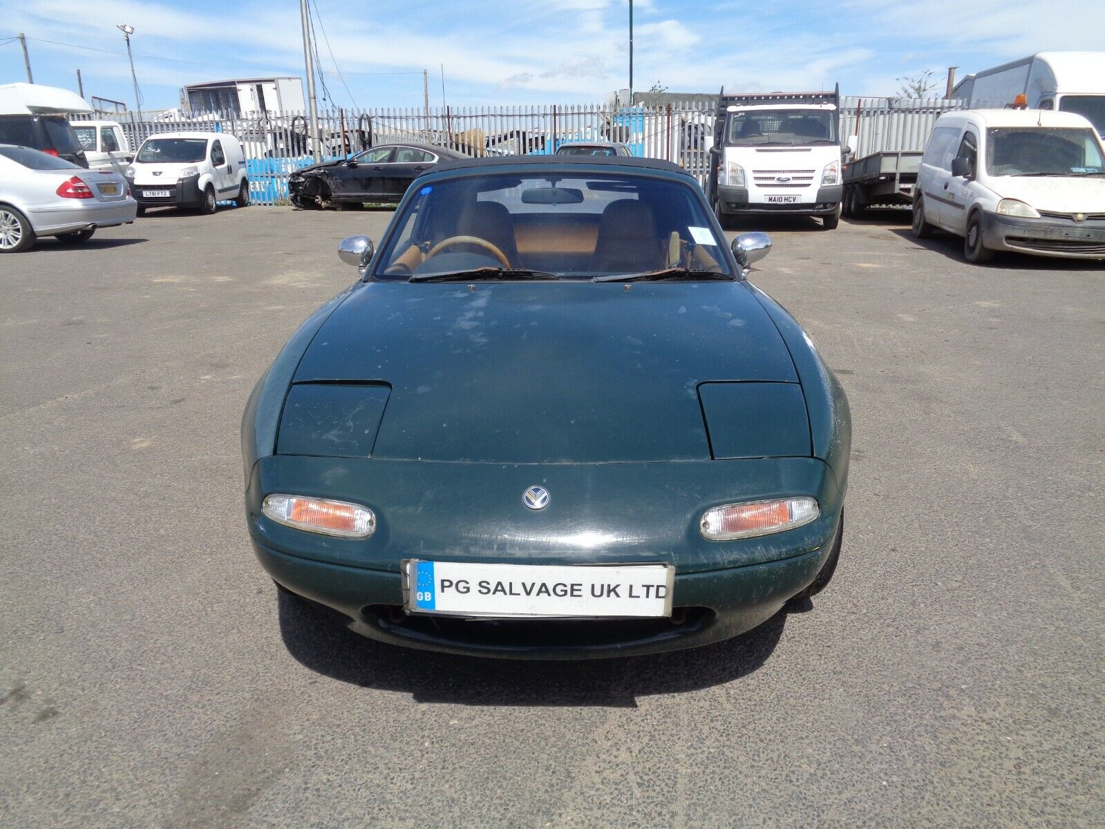 1990-MAZDA-MX5-ROADSTER-16-AUTOMATIC-SPARES-OR-REPAIRS-BARN-FIND-HPI-CLEAR