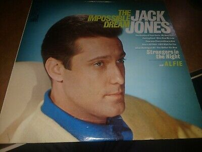 Jack Jones 'The Impossible Dream' Record Album LP Vinyl Good Condition Jack Jones Impossible Dream
