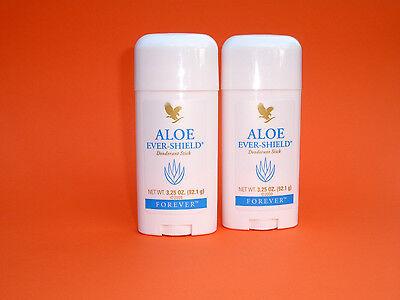 2x Forever Aloe Ever Shield Deo Stift - Aloe Vera ohne Aluminiumsalze