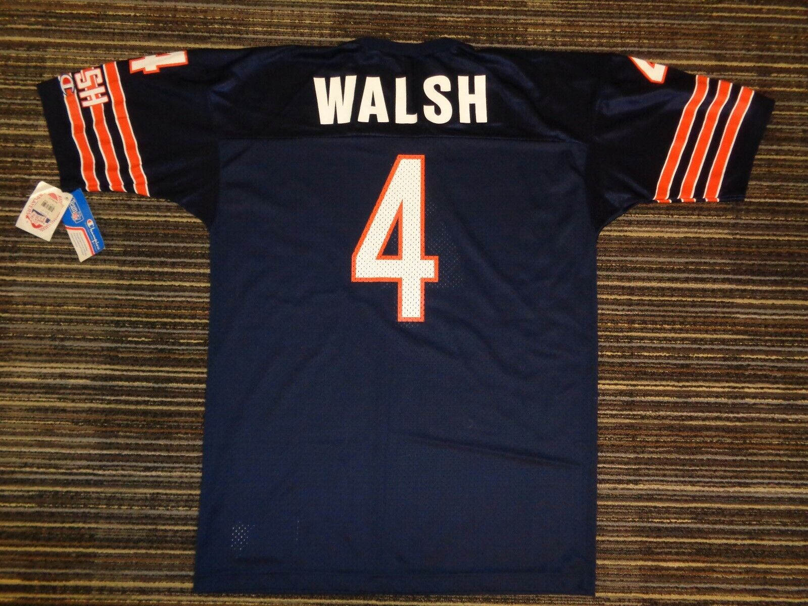 NWT STEVE WALSH 4 CHICAGO BEARS GSH CHAMPION MENS NFL GAME FOOTBALL JERSEY 44 - $39.99