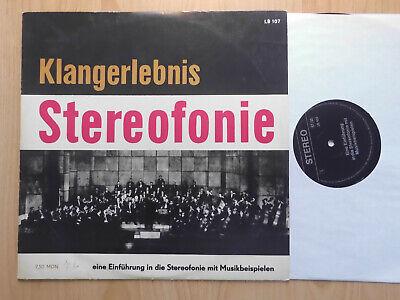 KLANGERLEBNIS STEREOFONIE DDR LP: TESTPLATTE EINSTELLUNG STEREOANLAGE (LP 107)