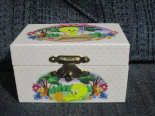 Vintage Looney Tunes Tweety Bird Trinket Box - 1997 Tri-Star