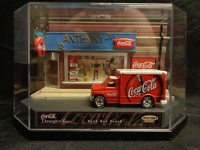 1990's Matchbox Ford Box Truck Coca Cola Anthony Jr's Discount Drugs