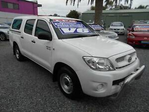 toyota hilux sr automatic dual cab lpg gas and petrol utility 2009 Klemzig Port Adelaide Area Preview