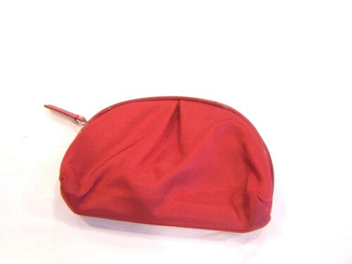 Shisedo red cosmetic bag