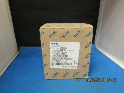 EATON XT0E045CCS ELECTRONIC OVERLOAD  9-45 AMPS