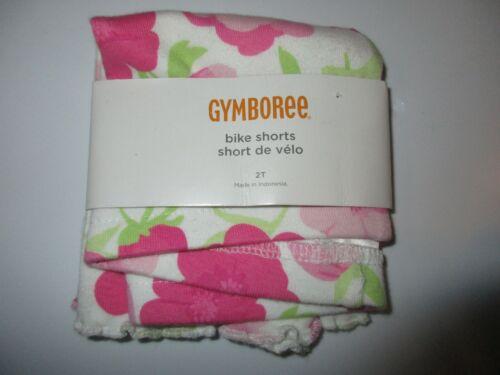 Gymboree Fairy Garden Pink Flower Bike Shorts Size 2T NWT