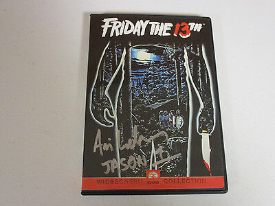 FRIDAY 13TH VORHEES ARI LEHMAN AUTOGRAPH SIGNED DVD EXACT SIGNING PICTURE PROOF