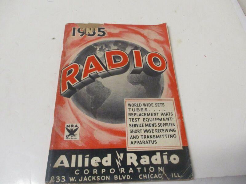 Allied Radio 1935 Radio Catalog